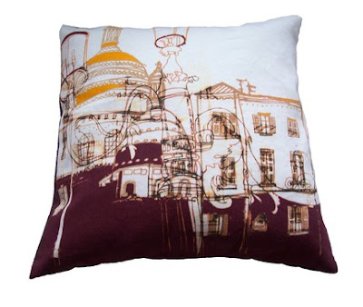 Helena Carrington - Montmarte cushion