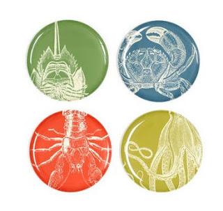 Pedlars - Sea Life plates