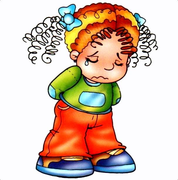Niño animado triste - Imagui