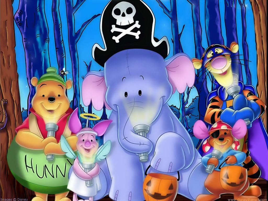 heffalump halloween coloring pages - photo#34