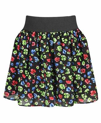 fusion high waisted floral skirts