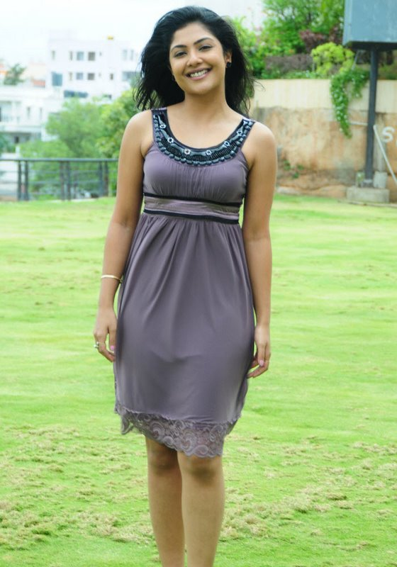 Kamilini Mukharjee in Short Frock Photo Gallery Photoshoot images