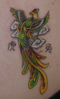 Best Japanese Phoenix Tattoo Designs