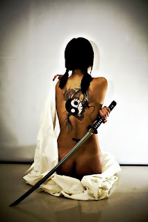 dragon samurai Tattoo