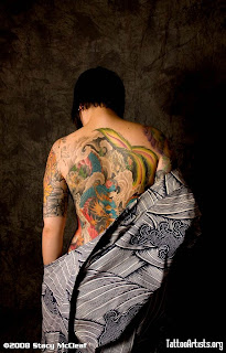 beautyfull japanese Tattoo
