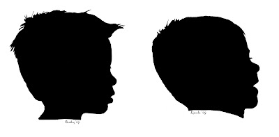 Children Silhouette Tutorial