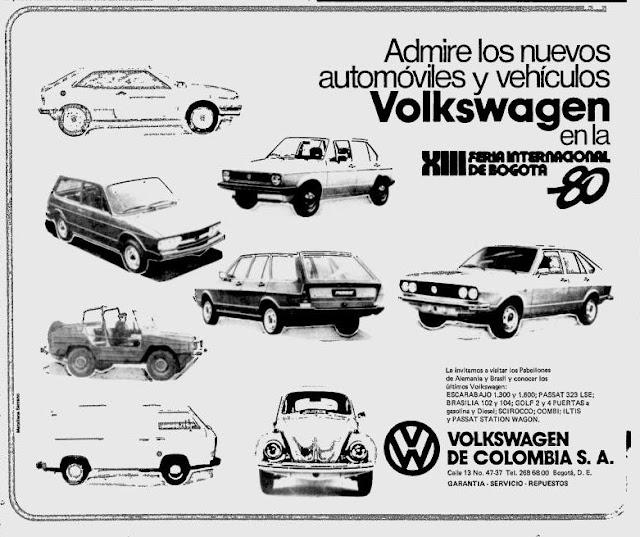 publicidad colombiana antigua  volkswagen  u0026quot nuevos