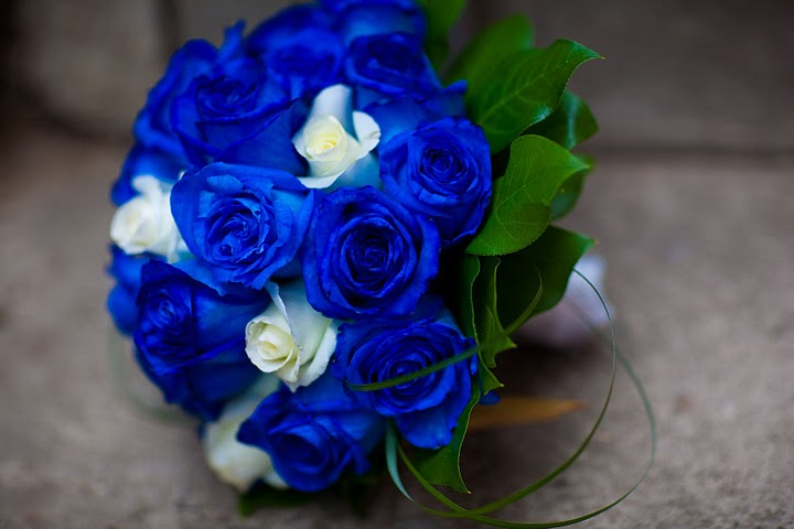 Brilliant Blue and White Rose Wedding Bouquets 720 x 480 · 47 kB · jpeg
