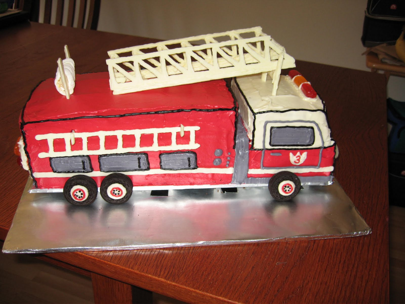 Fire Truck Cake Design : Birthday Cake: Fire Truck Birthday Cakes