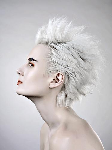 White Blonde Hair Long. I tried bleaching my hair to