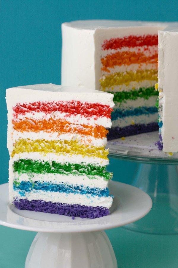 Wedding Cakes Pictures Rainbow Wedding Cakes
