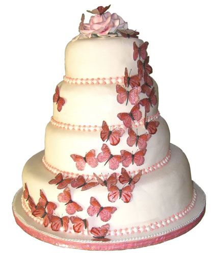 Butterfly, wedding cake, Wedding Decorations, Butterfly Wedding Decorations