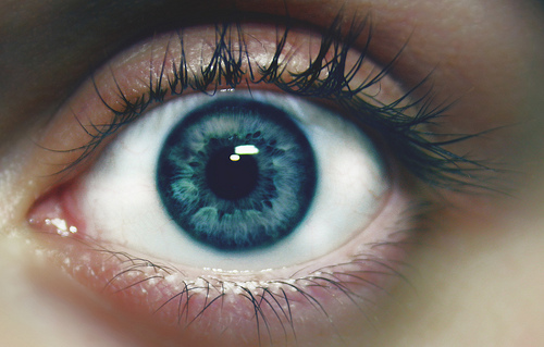 Eye Colors: Some Dark Blue Eyes