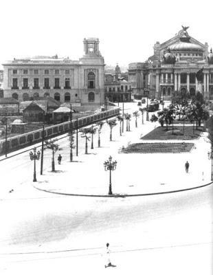 Praça Floriano - 1910