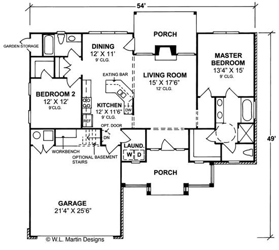Home plan collection of 2015 wheelchair accessible house for Handicap accessible house plans