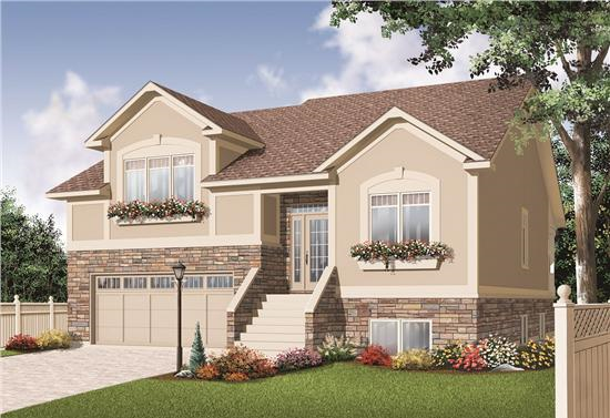 Http Theplancollection Blogspot Com 2010 07 Multi Level House Plans Html