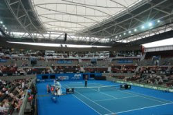 Pat Rafter Arena at the Brisbane International