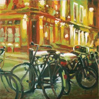 Bikes by Liza Hirst