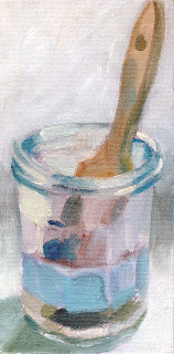 Glas jar by Liza Hirst