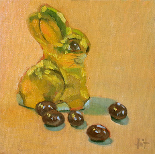 Leftovers from Easter by Liza Hirst