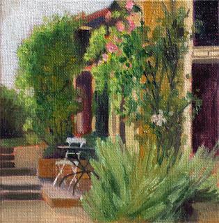 Little Terrace by Liza Hirst