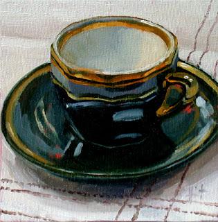 Grande Tasse by Liza Hirst