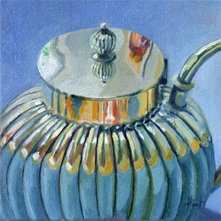 Friends On My Teapot by Liza Hirst