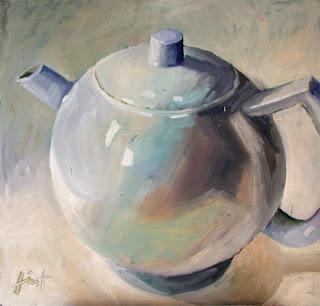Teapot 3 by Liza Hirst