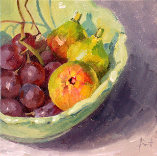 Late summer Fruits by Liza Hirst