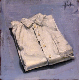 My Things, White Shirt by Liza Hirst