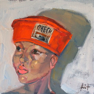 My Things, Canvas Cap by Liza Hirst