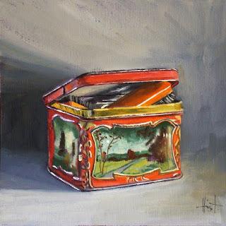 My Things, Dutch Tin by Liza Hirst