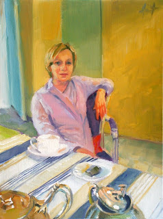 After Lunch Coffee by Liza Hirst