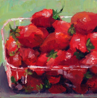 Strawberries by Liza Hirst