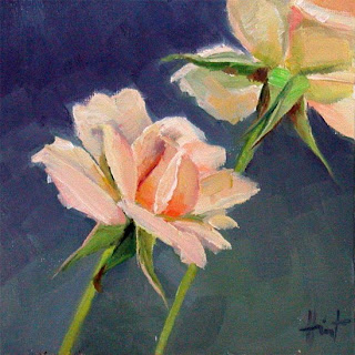 French Roses by Liza Hirst