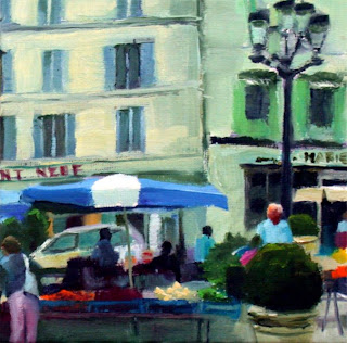 Market Perigueux III by Liza Hirst