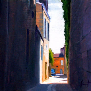 Narrow Alley by Liza Hirst