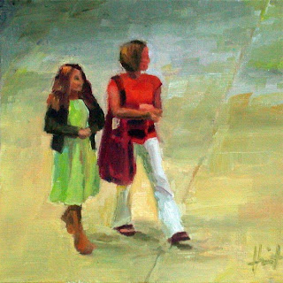 Mother and Daughter by Liza Hirst