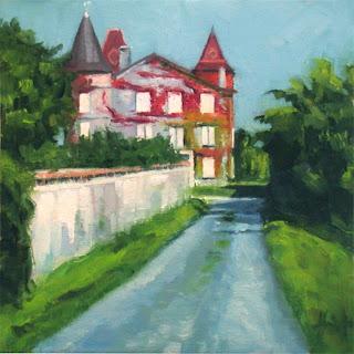 Chateau La Trompette by Liza Hirst