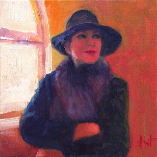 My friend---always chic! by Liza Hirst