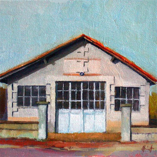 The Old Workshop by Liza Hirst