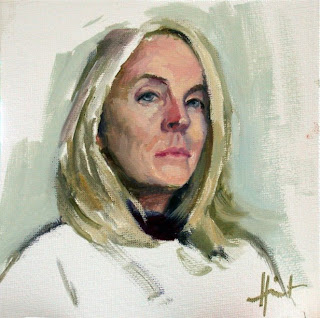 Self Portrait by Liza Hirst