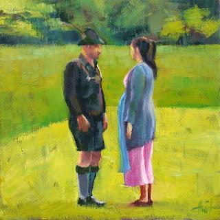 Bavarian Conversation by Liza Hirst