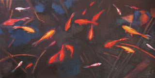 Fishpond by Liza Hirst