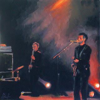 Smokey Duet by Liza Hirst