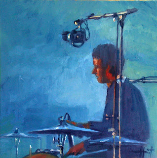 The Drummer by Liza Hirst