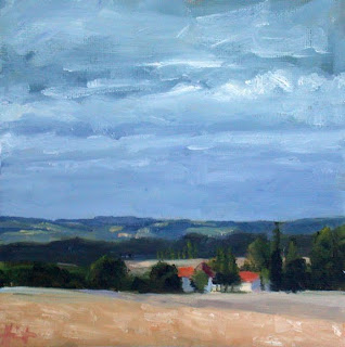 On the Way to Aubeterre by Liza Hirst