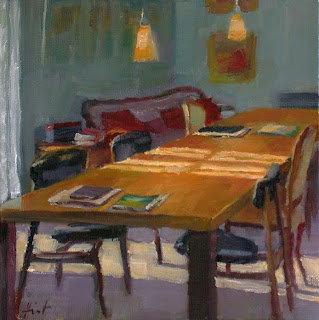 The Long Table by Liza Hirst