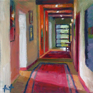 To the Studio by Liza Hirst