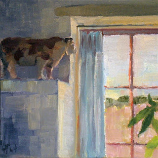 Kitchen Cow by Liza Hirst